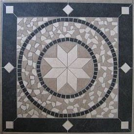 A step-by-step guide to creating a mosaic tabletop. Material checklist A table Assorted tiles Old towel Tile underlay, cut to size (optional) Construction adhesive (optional - eg liquid nails) Tile adhesive Grout in desired colour Clean rags Edge trim or beading PVA glue Step 1: break the tiles Before starting, you need to decide on a theme for your tabletop design. Designs like waves, swirls, or perhaps an animal or floral image are not overly ambitious for a first timer effort. Select your tiles to suit the colours you will need to create your design. Now put on your safety glasses and break your tiles by placing them face down in the towel, covering the tile back with the towel, and striking with the hammer. You're trying to create 20mm-40mm fragments, so don't pulverise the tile. Any larger pieces can be trimmed down using the tile nippers later. Step 2: prepare the tabletop If your table top is timber, sand it back to create an even surface for the tile adhesive to stick to. If your table top is plastic, metal or laminate, you will need to cover the original table top with the tile underlay. Adhere the underlay to your table top using some construction adhesive and allow it to dry before attempting to work with the new surface. Step 3: lay out the tiles Now draw out your design on the table top, taking the time to get the lines and shapes right. Once you are satisfied with the design, start filling in the patterns by dry-fitting the tile fragments in place (Fig. 1). Don't leave more than 5mm or so between tile fragments, and don't sit tiles too closely side by side as the grout will not be able to penetrate correctly later on. Use the tile nippers, always wearing your safety glasses, to trim tiles to size. We found holding the nippers and tile fragment inside a cardboard box was a good way of containing any flying fragments and dust when doing this. Take the time at this stage to ensure that your tile fragments are the right shape and size to do justice to your design. Step 4: stick down the tiles Once you have completely covered the tabletop with tile fragments in the design of your choice, get comfortable and start gluing (Fig. 2). Start from one corner, and working with one tile fragment at a time, use your old knife or filling blade to apply tile adhesive to the back of each tile frag-ment. If your tiles are large enough, tile adhesive can be applied directly from its container. Press it down firmly onto the table top - but be careful not to squeeze all of the adhesive out from under it. Continue in this way until all tiles have been stuck down, using the tweezers to work with small or fiddly tiles. When all the tiles are all stuck down, use your wooden ruler to check the level of the new surface you have created. Press down any raised tiles, and use your tweezers to pull up and reglue any tiles that seem too press down - you are aiming for a uniform levelled surface that will take grout well. Follow the manufacturer's instructions in regard to drying time. Step 5: apply the grout Make up the grout in accordance with the directions on the pack. Once it is ready to go, apply it in sections to the tabletop, working the grout into the gaps between the tiles with the grout squeegee (Fig. 3). It is preferable to overfill rather than underfill at this stage. Keep working back and forth until you have removed as much of the excess grout as possible with the squeegee, and ensured that all gaps are filled with grout. Allow the table to sit for ten minutes, then fill the large bucket with clean water. Take the barely damp, flat, smooth sponge and start wiping over the surface of the tiles to remove the excess grout. Rinse out the sponge constantly - you should be able to get one or two good swipes before needing to rinse. Make sure you wring out the sponge well each time. Once you are satisfied with the finish on your tabletop, leave the grout to dry. Check the manufacturers instructions on the grout packet for recommended drying times. Step 6: finishing Once the grout is dry, a haze will probably form across the tiles no matter how careful you were with cleaning off the excess grout. Use your clean rag to polish the haze off. Now you need to finish the edges of your table. Use some beading, mitre cutting the corners to create neat edges (Fig. 4). To do this, simply select some beading or edge trim from your Mitre I0 store wide enough to cover the old edge of the table and the new tiled surface, and measure the length of each side of the table. Cut the mitres so that the lengths you have just measured form the short side of the mitre. Apply the construction adhesive to each length, and press into place along the side of the table, using the PVA glue to fix the mitre joins together. Use tape or some other form of temporary fixing to brace the four pieces in place while the glue cures. Once dry, sand back and finish the trim as desired.